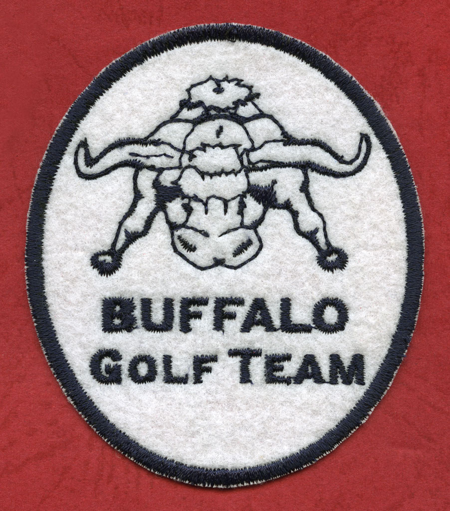 ricamo buffalo golf team