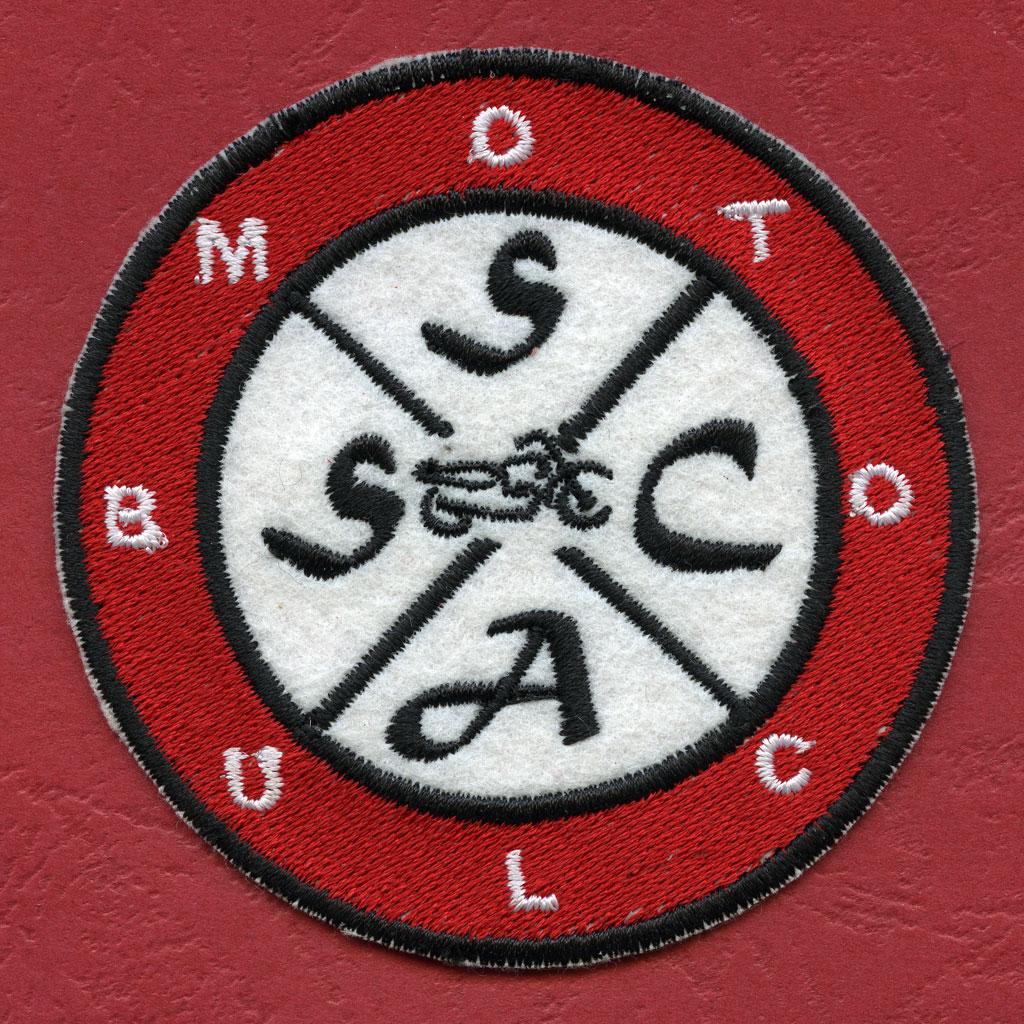 ricamo moto club